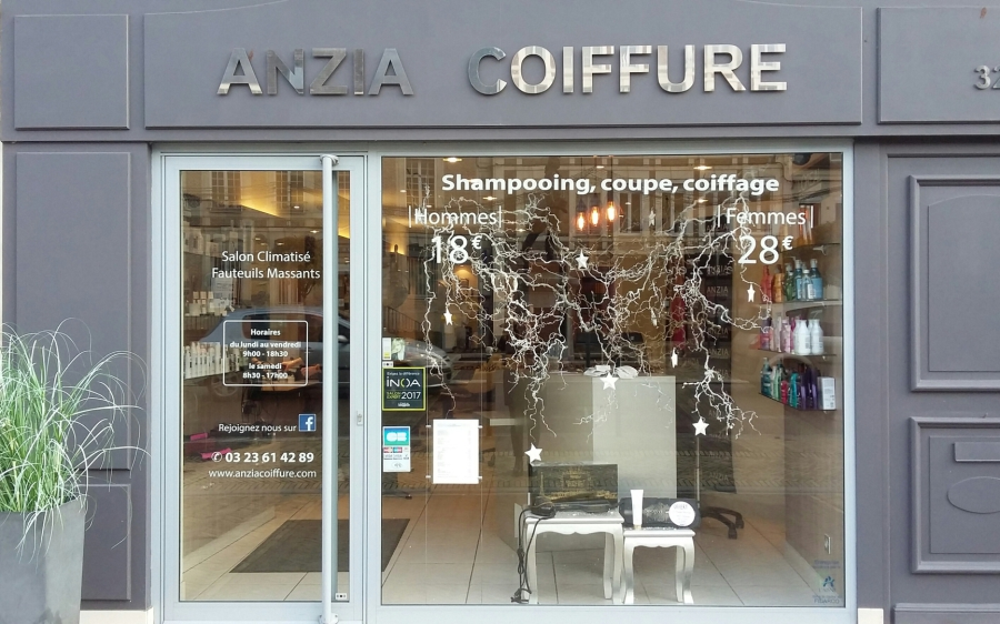 Anzia Coiffure - Accueil